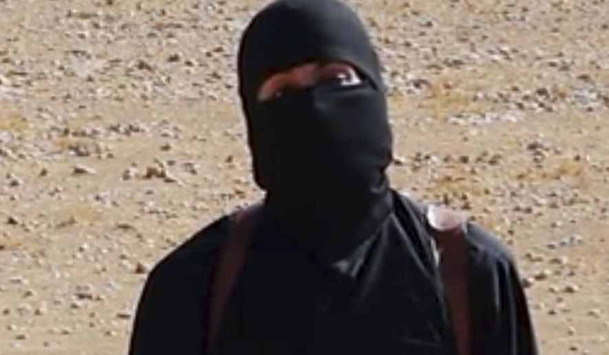 """American forces reportedly launched an attack on """"Jihadi John"""" at the Islamic State's self-styled capital in Raqqa, Syria, on Thursday. (Associated Press)"""