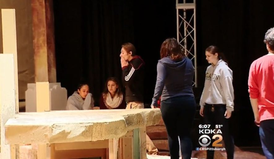 "Clarion University of Pennsylvania has canceled a $15,000 stage production of ""Jesus in India"" at the request of the playwright after he reportedly took issue with the cast being nearly all-white. (KDKA-TV)"