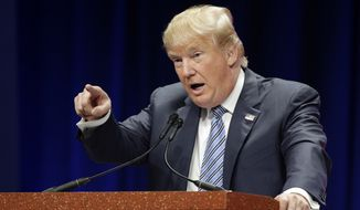 """This is a war,"" Republican presidential candidate Donald Trump says. (Associated Press/File)"
