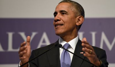 'Too busy for that' President Obama, at the Group of 20 summit in Turkey, dismisses criticism and says he will keep his counterterrorism strategy on course even after the Paris attacks.