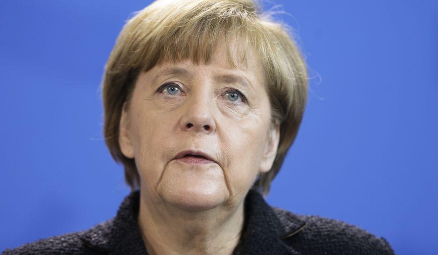 German Chancellor Angela Merkel. (Associated Press)