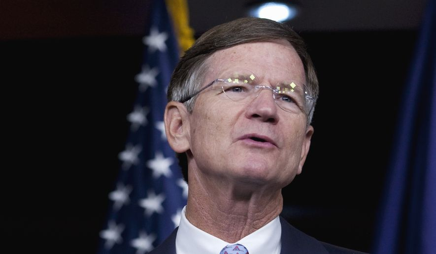 """This bill encourages the private sector to launch rockets, take risks and shoot for the stars,"" said Rep. Lamar Smith, Texas Republican and chairman of the Science Committee. (Associated Press)"