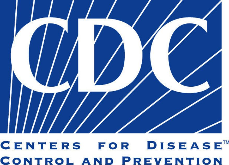 Centers for Disease Control and Prevention logo (Associated Press)