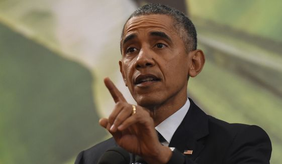 President Obama this week has tried to rally refugee and immigrant-rights advocates to his defense, saying the U.S. has a moral obligation to take some of the millions of refugees who have fled a brutal civil war in Syria that the president has been unable to stop. (Associated Press)