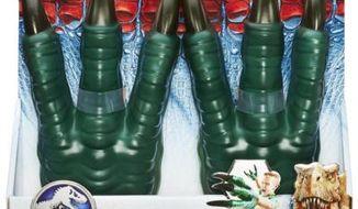 Jurassic World velociraptor claws (Photo Hasbro.com)