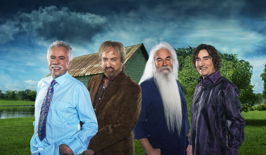The Oak Ridge Boys. Left to right: Joe Bonsall, Duane Allen, William Lee Golden and Richard Sterban.