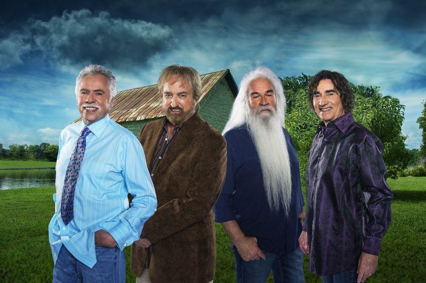 The Oak Ridge Boys. Left to right: Joe Bonsall, Duane Allen, William Lee Golden and Richard Sterban.