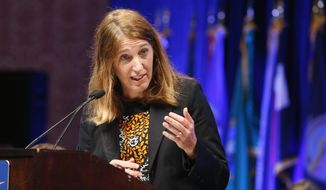 Health and Human Services Secretary Sylvia Mathews Burwell (Associated Press) **FILE**