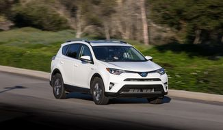 New on the Toyota RAV4 for 2016 is a refreshed exterior and updated interior across all of the trim levels. (Photo by Rita Cook)