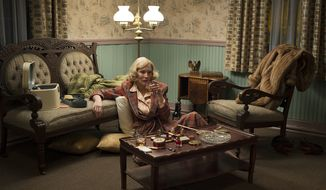"""This photo provided by The Weinstein Company shows, Cate Blanchett as Carol Aird in a scene from the film """"Carol."""" The film was released on Friday, Nov. 20. (Wilson Webb/The Weinstein Company via AP)"""