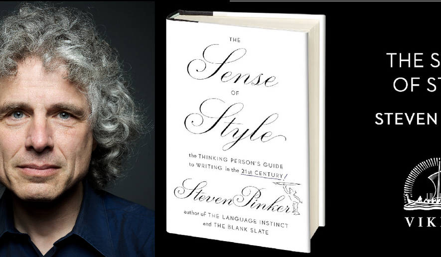Steven Pinker, Harvard professor and bestselling author.