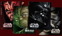 Gift ideas for movie connoisseurs include the Star Wars Limited Edition Steelbook collection on Blu-ray.