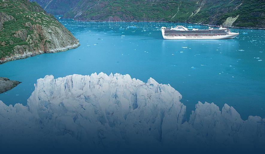 Princess Cruises in Alaska: Catching the splendor before the big melt.