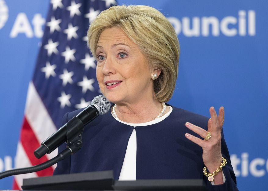 Hillary Rodham Clinton's campaign said for every $1 billion in infrastructure investment, 13,000 jobs are created, and every dollar of infrastructure investment leads to an estimated $1.60 increase in GDP the following year and twice that over the subsequent 20 years. (Associated Press)