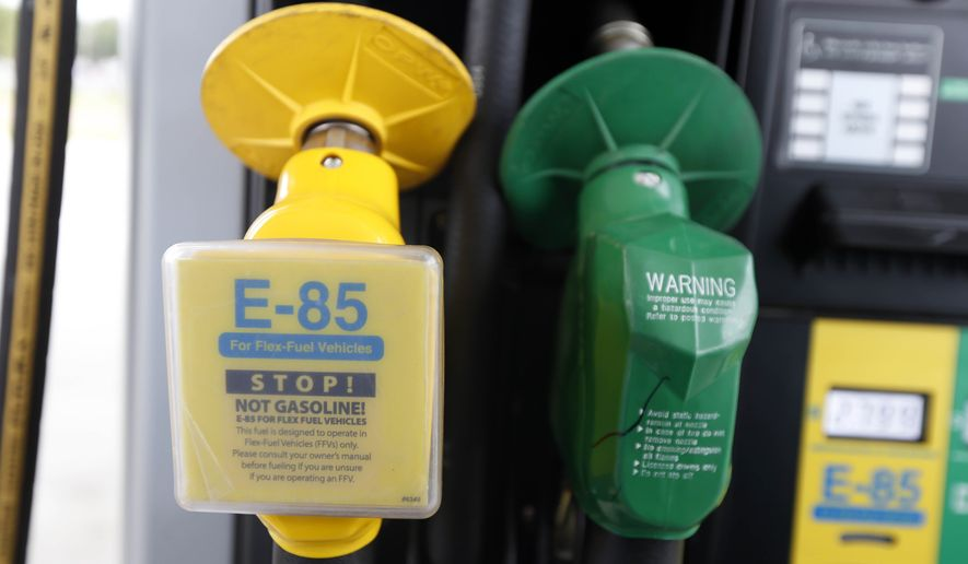 Ethanol-free fuel demand grows - Washington Times