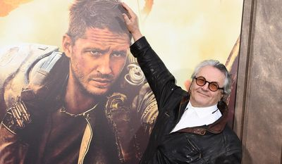 """FILE - In this May 7, 2015 file photo, George Miller arrives at the Los Angeles premiere of """"Mad Max: Fury Road"""" at the TCL Chinese Theatre in Los Angeles. The National Board of Review has named the rollicking apocalyptic adventure """"Mad Max: Fury Road"""" the best film of 2015. Miller's latest installment in the 1970s-born franchise was a radical and unconventional curve ball from the National Board of Review, one of the oldest awards bodies in movies.  (Photo by Jordan Strauss/Invision/AP, File)"""
