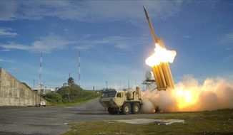 Army Gen. General Curtis M. Scaparrotti, U.S. Forces Korea commander, still wants the Terminal High Altitude Area Defense system, an advanced missile system, deployed to protect U.S. and allied forces. (U.S. Army)