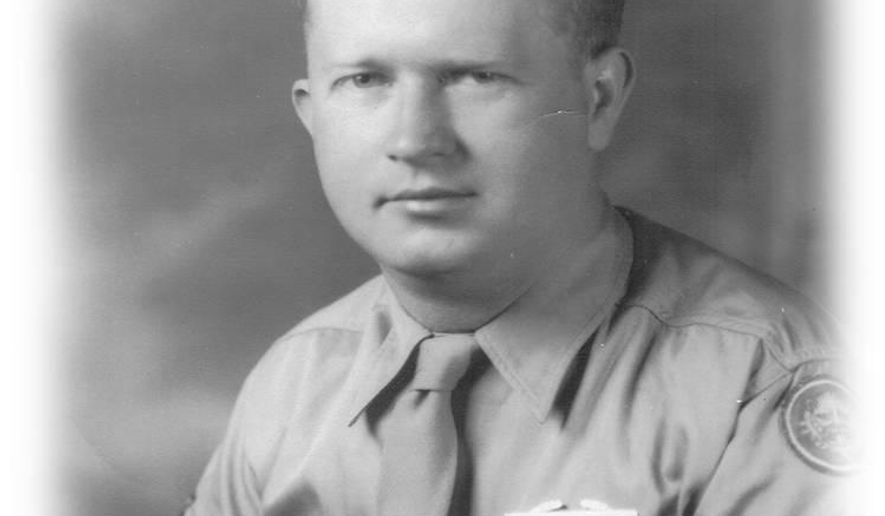 """This undated photograph released by the Yad Vashem Holocaust Memorial shows World War II, United States Army Master Sgt. Roddie Edmonds. Edmonds is being posthumously recognized with """"Righteous Among the Nations"""" Israel's highest honor for non-Jews who risked their lives to save Jews during World War II. He's the first American serviceman to earn the honor. (Courtesy of Yad Vashem via AP)"""