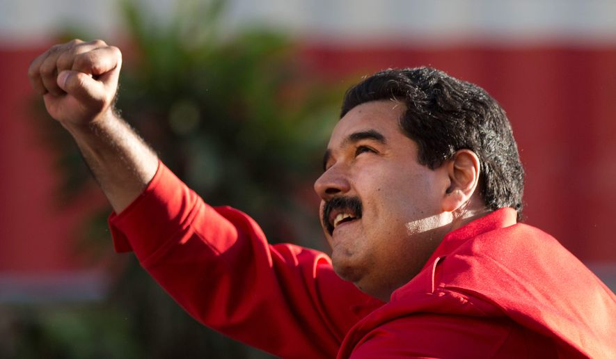 Venezuela's President Nicolas Maduro has seen his popularity plummet in Venezuela to below 25 percent amid food and goods shortages and rising crime.