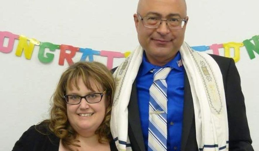 Nicholas Thalasinos, a Jewish man killed in Wednesday's mass shooting at a San Bernardino, California, social service center, was outspoken in his views against Islam. (Facebook/@Jennifer Thalasinos)