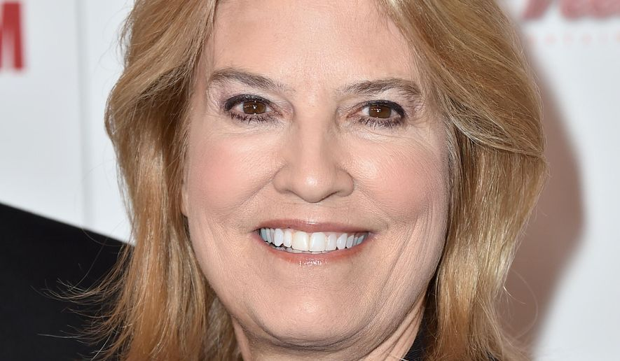 FILE - In this Oct. 30, 2015 file photo, Greta Van Susteren arrives at the 29th American Cinematheque Awards honoring Reese Witherspoon in Los Angeles. Van Susteren has a deal with Simon & Schuster for a book about social media, the publisher announced Thursday, Dec. 3. The book is currently untitled and scheduled for Fall 2017. (Photo by Jordan Strauss/Invision/AP, File)