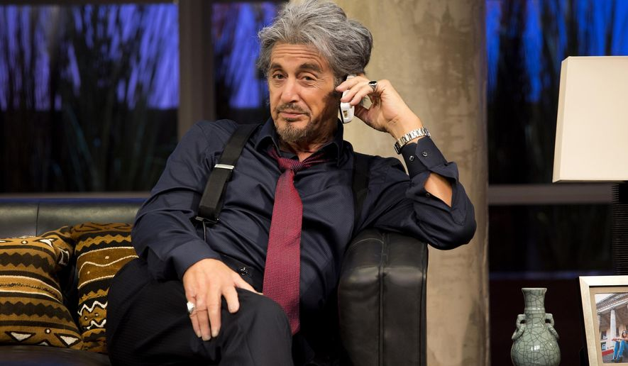 "In this image released by Jeffrey Richards Associates, Al Pacino appears during a performance in ""China Doll"" at the Schoenfeld Theatre in New York.  (Jeremy Daniel/Jeffrey Richards Associates via AP)"