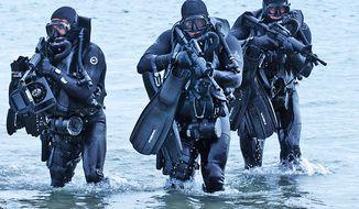 US Navy SEALs. (Image: U.S. Navy)