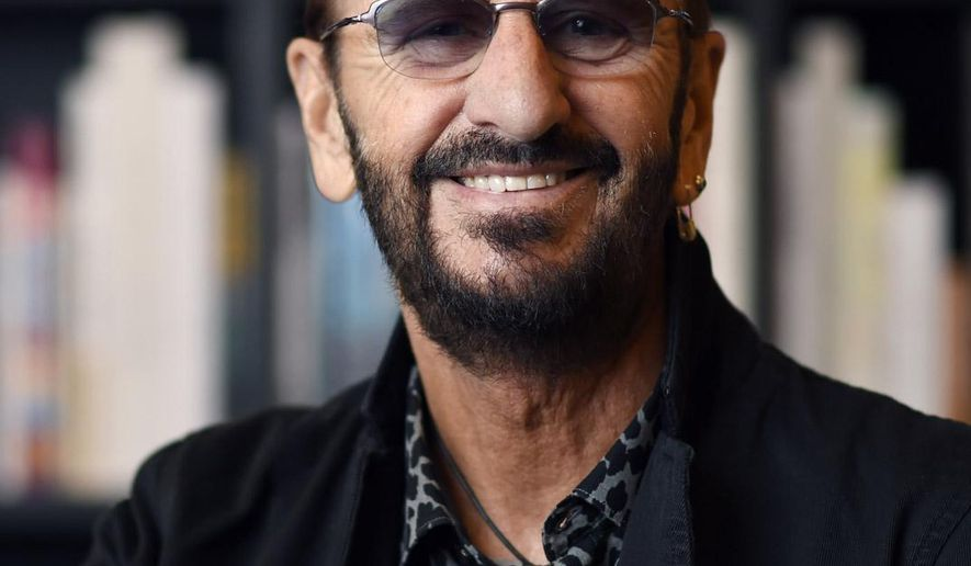 File-This Sept. 23, 2015, file photo shows Ringo Starr posing for a portrait at Book Soup in West Hollywood, Calif. A drum kit that Starr used to record some of the Beatles' early hits has sold for $2.2 million at an auction to Indianapolis Colts owner Jim Irsay. Julien's Auctions says Irsay bought the 1963 Ludwig Oyster Black Pearl three-piece drum kit Friday at a sale in Beverly Hills, California. The two-day auction includes over 800 items owned by Ringo Starr and his wife, actress Barbara Bach. (Photo by Ringo Starr/Invision/AP, File)