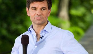 "FILE - In this Friday, May 28, 2010 file photo, George Stephanopoulos appears on ABC's ""Good Morning America"" show in New York. The show is in its first prolonged slump since overtaking NBC's ""Today"" in popularity three years ago. ""GMA"" is losing viewers, most rapidly among a younger demographic that advertisers eagerly seek, where NBC has wrested back the lead from its rival. (AP Photo/Charles Sykes)"