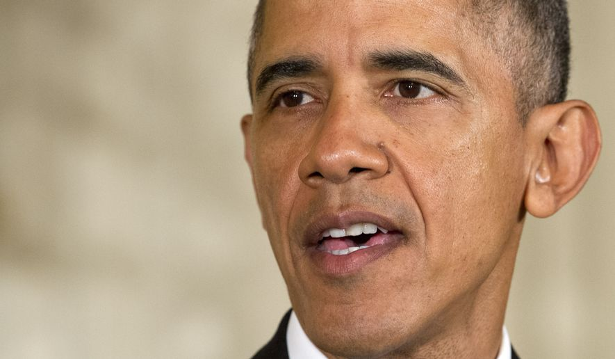 """President Obama did not mention Russia's stepped-up military campaign when addressing efforts being made with """"our closest allies"""" to destroy the Islamic State in Syria, also knows as ISIS and ISL, which he said include increased intelligence cooperation, disrupting the group's international funding system and pursuing a cease-fire and political settlement to the Syrian civil war. (Associated Press)"""