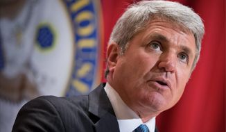 House Homeland Security Committee Chairman Michael T. McCaul says President Obama's plan to allow 10,000 Syrian refugees into the U.S. may allow Islamic State operatives to sneak into the country among those seeking freedom. (Associated Press photographs)