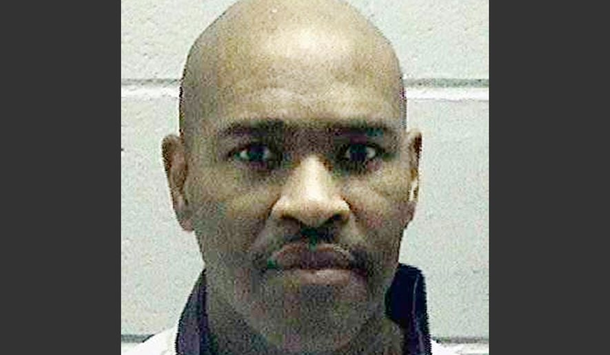 This undated file photo released by the Georgia Department of Corrections shows Brian Keith Terrell. Terrell is scheduled for execution at the state prison in Jackson, Department of Corrections Commissioner Homer Bryson said Monday, Nov. 23, in a statement. Terrell was convicted of stealing checks from and then killing a friend of his mother. (Georgia Department of Corrections via AP, File)