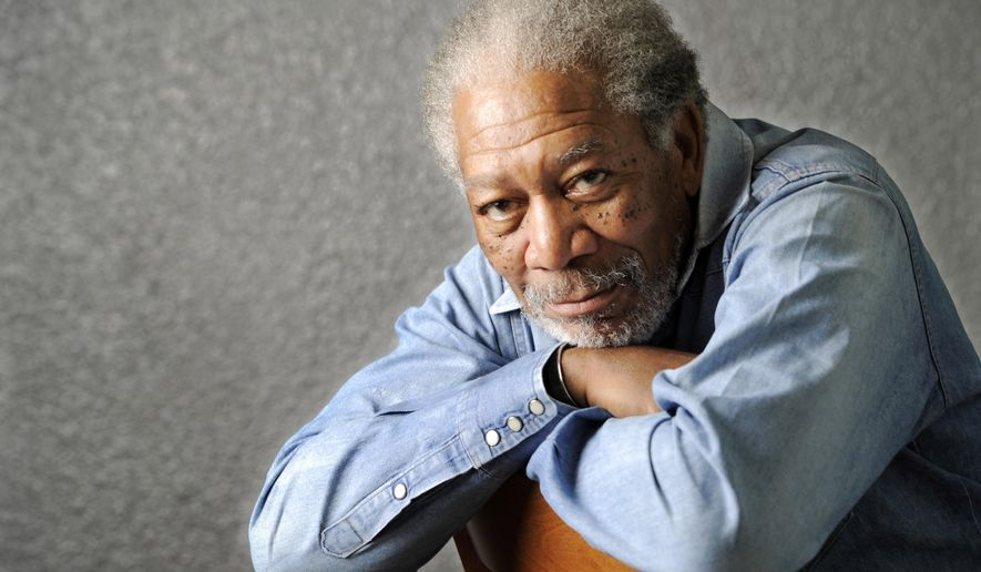 FILE - In this April 25, 2011, file photo, actor Morgan Freeman poses for a portrait in Los Angeles. Freeman said he was aboard his plane when it had to make an unexpected landing in Tunica, Miss., Saturday, Dec. 5, 2015, but nobody was injured. (AP Photo/Chris Pizzello, File)