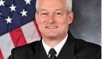 Rear Adm. David F. Baucom (Image: U.S. Navy)