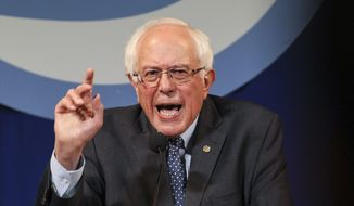 Democratic presidential candidate Sen. Bernard Sanders of Vermont has made climate change one of the top issues of his campaign, as have the other Democratic candidates. (Associated Press)