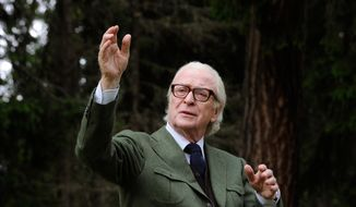 "This photo provided by Fox Searchlight shows Michael Caine as Fred in ""Youth."" The movie opens in U.S. theaters on Dec. 4, 2015.  (Gianni Fiorito/Fox Searchlight via AP)"