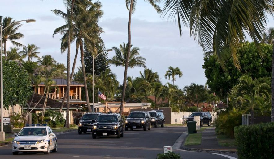 President Obama and his family will leave Washington Friday for their Christmas vacation in the Aloha State. (Associated Press)