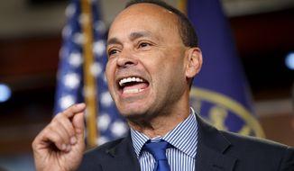 Rep. Luis V. Gutierrez, Illinois Democrat (Associated Press) **FILE**