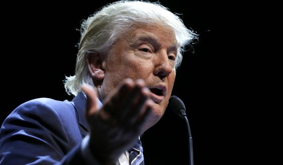 Donald Trump on the campaign trail has insisted that Hispanics will rally to his message — though evidence backing up his claim is scant. (Associated Press)