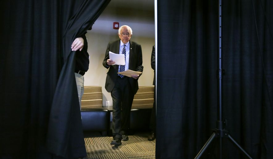 In the early primary states of Iowa and New Hampshire, Sen. Bernard Sanders isn't playing by the traditional Democratic playbook — and party members have taken note. (Associated Press)