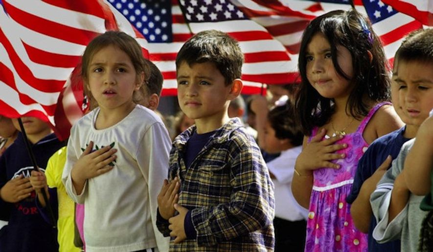 Santa Claus and the Pledge of Allegiance have been restored at a Brooklyn public elementary school after a ban caused a public outcry. (Associated Press)