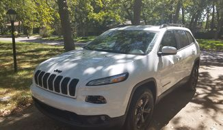 The 2015 Jeep Cherokee is a classy, yet still tough crossover. (Photo by Rita Cook).