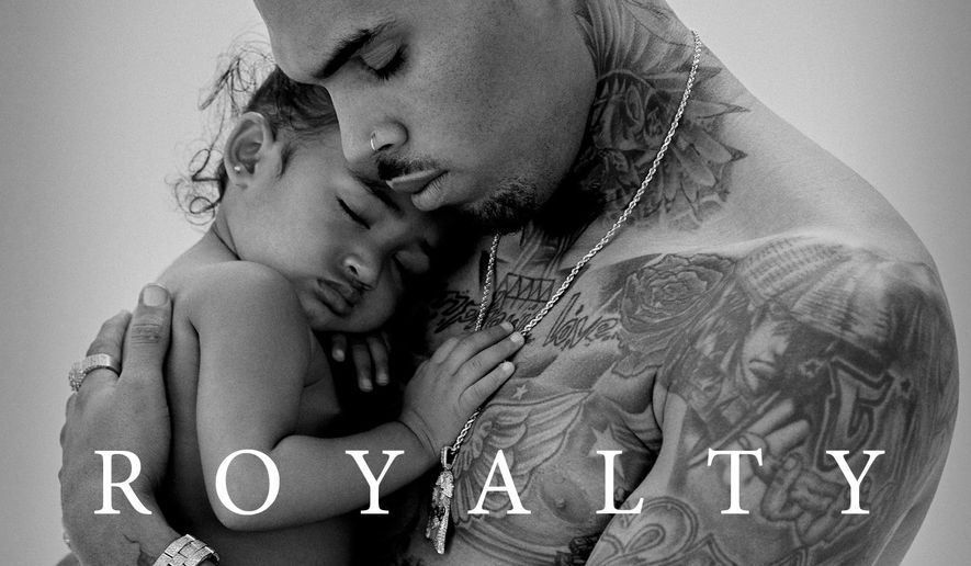 """This CD cover image released by RCA shows """"Royalty,"""" a new release by Chris Brown. (RCA via AP)"""