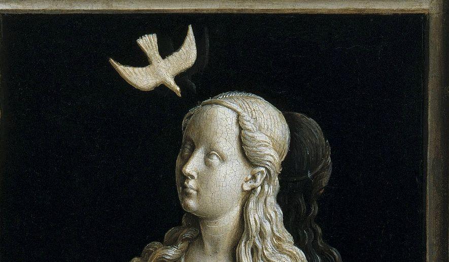 """The Annunciation"" by Jan van Eyck"