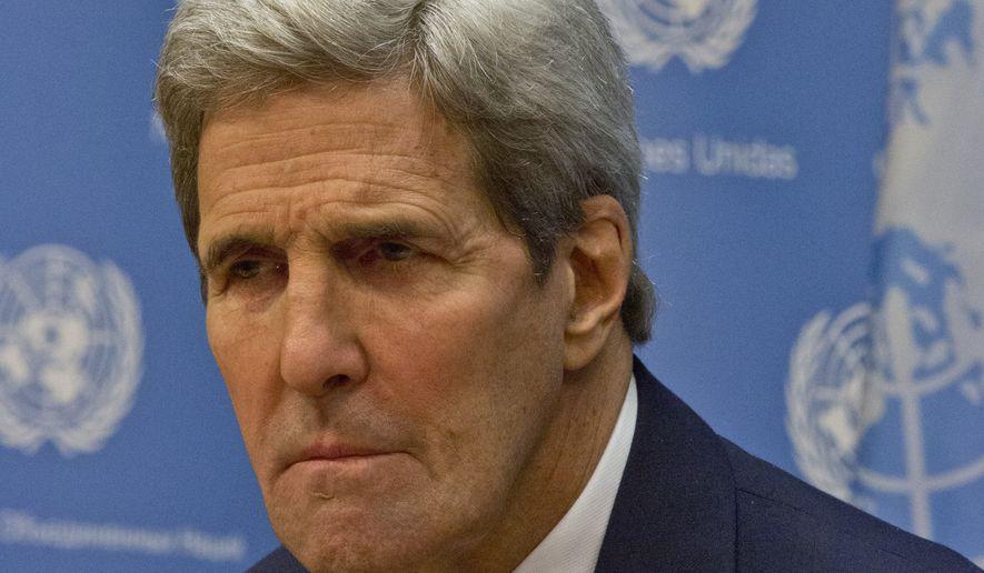 Secretary of State John F. Kerry (Associated Press/File)