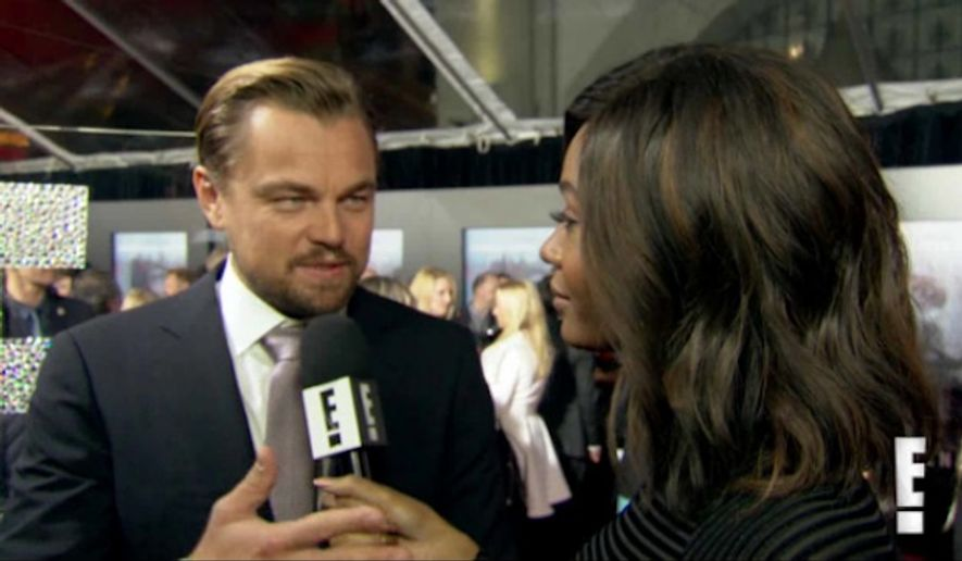 "Leonardo DiCaprio slammed a recent report by Matt Drudge that claimed the actor gets raped by a bear in a scene from ""The Revenant."" (E! News)"