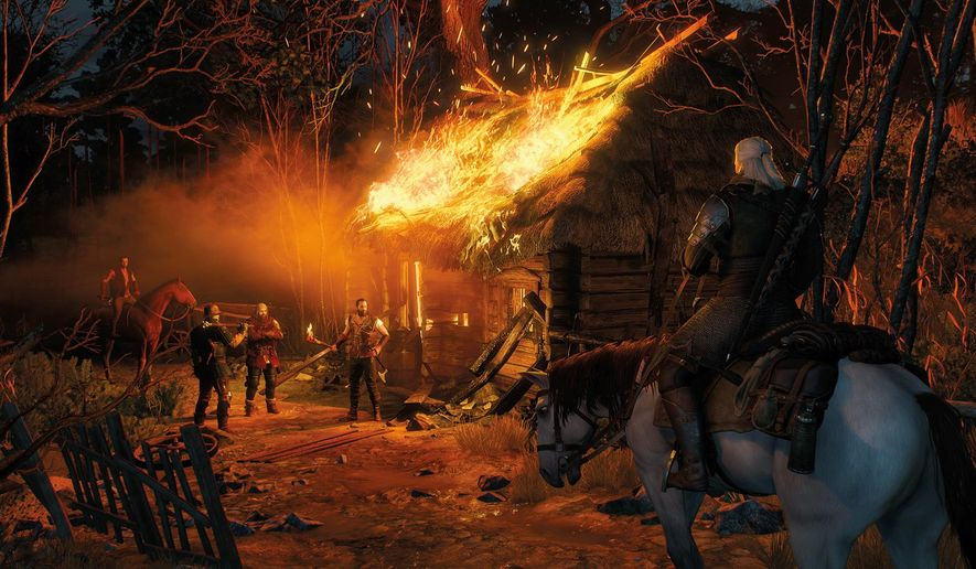 "This photo provided by CD Projekt RED shows a scene from the video game, ""The Witcher III: Wild Hunt."" Associated Press video game critics Lou Kesten and Derrik J. Lang's favorite titles of the year featured monster hunters, treasure hunters, guardian spirits and murder suspects, and includes the games ""Rise of the Tomb Raider,"" ""The Witcher III: Wild Hunt,"" ""Ori and the Blind Forest,"" among others.  (CD Projekt RED via AP)"