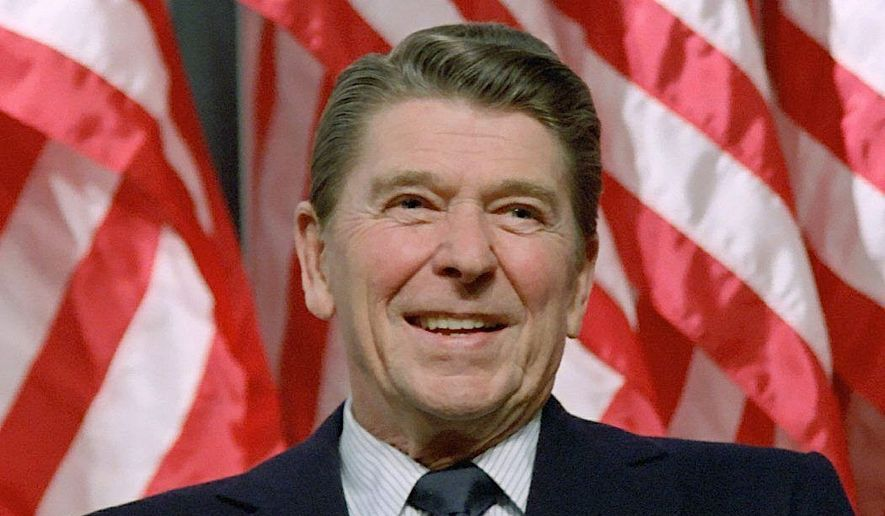 A screenplay suggesting Ronald Reagan had dementia in office has made it to an influential Hollywood insiders' list as a potential feature movie project. (Associated Press)