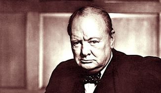 Winston Churchill (Associated Press)