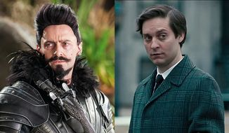 """Hugh Jackman co-stars as Blackbeard in """"Pan"""" and Tobey Maguire stars as Bobby Fischer in """"Pawn Sacrifice"""" now available on Blu-ray."""